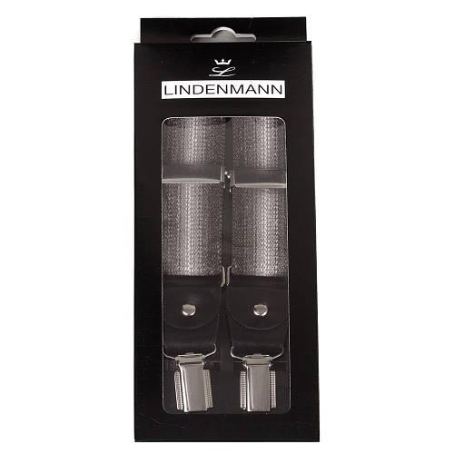 Привлекательные мужские подтяжки LINDENMANN Артикул: FARE8115-001 серый