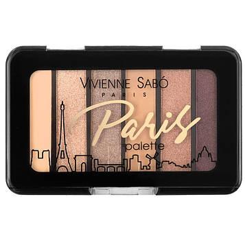 Палетка тіней для повік Vivienne Sabo PARIS (6 кольорів) - №3
