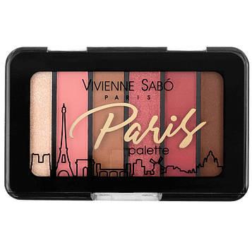 Палетка тіней для повік Vivienne Sabo PARIS (6 кольорів) - №4