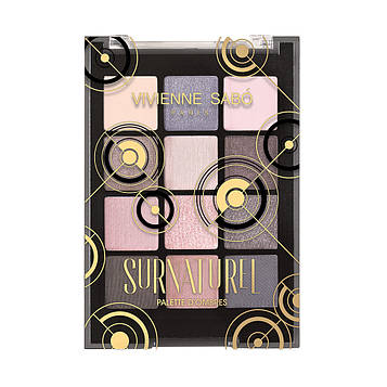 Палетка тіней Vivienne Sabo SURNATUREL (12 кольорів)