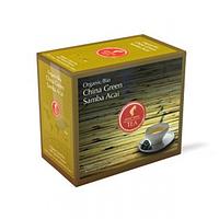 Органический зеленый чай JULIUS MEINL BIO CHINA GREEN SAMBA ACAI САМБА АСАИ 20шт*3,25г