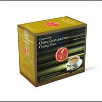 Органический зеленый чай JULIUS MEINL BIO CHINA GREEN JASMIN CHUNG HAO КИТАЙСКИЙ ЗЕЛЕНЫЙ ЖАСМИН ЧУНГ ХАО 20шт*