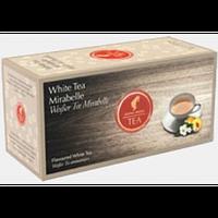Пакетированный белый чай JULIUS MEINL WHITE TEA MIRABELLE МИРАБЕЛЛА 25шт*1,75г
