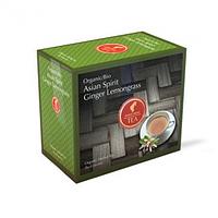Органічний трав'яний чай ULIUS MEINL BIO ASIAN SPIRIT GINGER LEMONGRASS ДУША АЗІЇ ІМБИР ЛЕМОНГРАС 20шт*3г