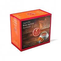 Органический фруктовый чай JULIUS MEINL BIO ROSE APRICOT РОЗА АБРИКОС 20шт3,5г