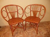 """Плетеный стул из лозы """"Сатурн"""" / Плетене крісло із лози """"Сатурн"""""""