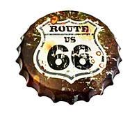 Крышка-плакат Дорога 66