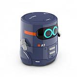 AT-Robot Розумний робот з сенсорним управлінням і навчальними картками (темно-фіолетовий), AT002-02-UKR, фото 2