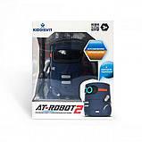 AT-Robot Розумний робот з сенсорним управлінням і навчальними картками (темно-фіолетовий), AT002-02-UKR, фото 5