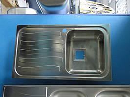 Мийка з нержавіючої сталі Smeg (Apell) 500x860