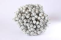 Сахарные ягодки 400 шт/уп. оптом серебристого цвета (калина в сахаре) НГ