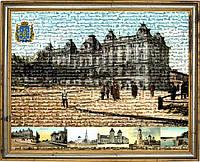 Мозаика Старый Екатеринослав 60х80 на холсте в раме, фото 1