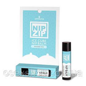 Стимулирующий бальзам для сосков Sensuva - Nip Zip Chocolate Mint (4 г), охлаждающий
