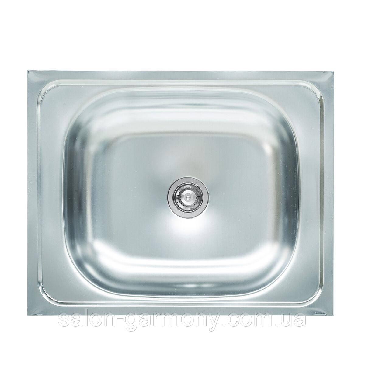 Мийка кухонна з нержавіючої сталі Platinum 4050 0,4 / 120