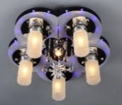 Люстра светодиодная космос Sirius B Y0870 / 5+1 на 6 лампочек