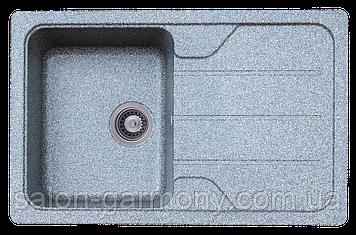 Гранитная мойка для кухни Platinum 7850 VERONA матовая Микс