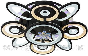 Люстра светодиодная акриловая Sirius MX10010/4+4+1