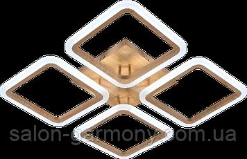 Люстра светодиодная акриловая Sirius LI8822/4A Wood 112W