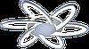 Люстра світлодіодна акрилова Sirius MX10014/6C CR (RGB) 144W+8W, фото 2