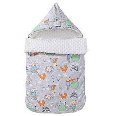 Конверт-одеяло Lovely Baby Lesko J21 Little Prince для малыша новорожденного на выписку
