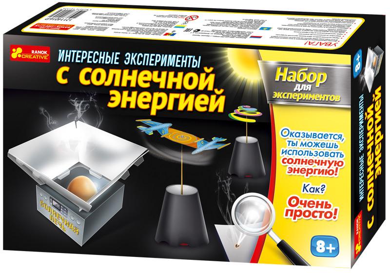 Creative Набор для экспериментов 0392 Интересные эксперименты с солнечной энергией 12114016Р