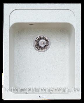 Гранитная мойка для кухни Platinum 4050 KORRADO матовая Топаз