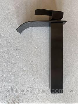 Смеситель под умывальник Platinum Handmade 3191 PVD черный