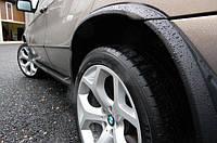 Розширювачі арок 4.6 is/4.8 is BMW X5 E53 1999-2006 р. в. ABS пластик