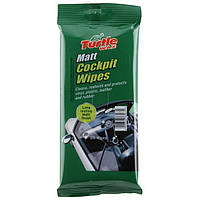 Салфетки для пластика матовый эффект Turtle Wax