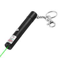Ліхтар-зелений лазер 713, вбудований акумулятор, USB, фото 1