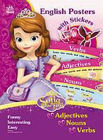 Ранок Disney Плакати з наліпками Софія Англійська Adjectives