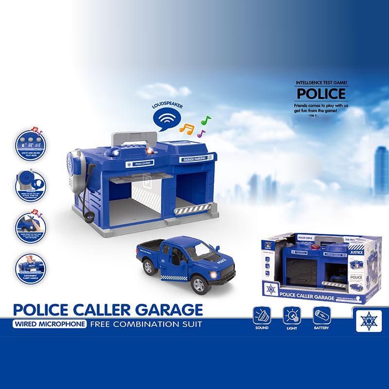 Игрушка полицейский участок, свет, звук
