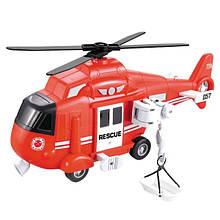 Игрушечный вертолет детский Спасательный Big Motors (WY750B)