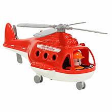 """Дитяча іграшка пожежний вертоліт """"Альфа"""" Polesie (в коробці) (68651)"""