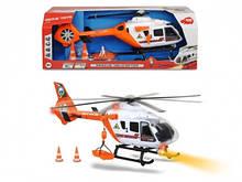 Игрушка вертолет большой Спасатель, свет, звук, 64 см, DICKIE TOYS