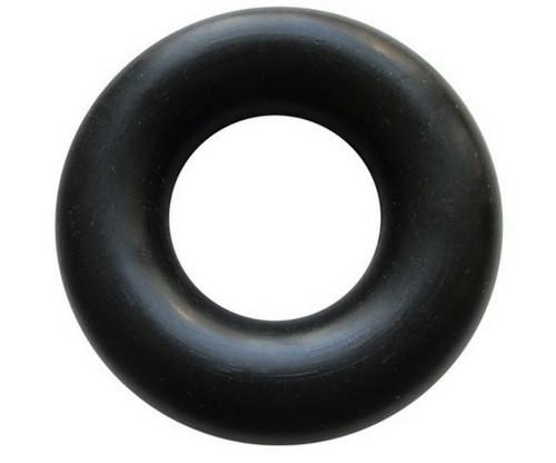 Еспандер великий кистьовий гумовий, чорний. Діаметр: 9,5 див. Україна