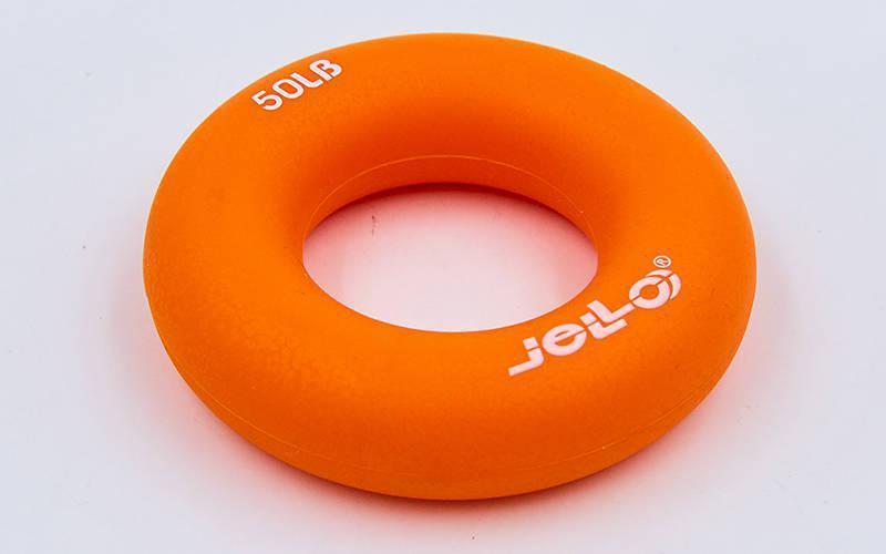 Еспандер кистьовий Кільце (1шт) JLA473-50LB (TPR, d-7см, навантаження 50LB(22,5 кг), помаранчевий)