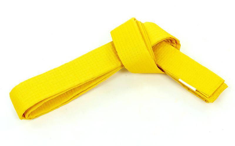 Пояс для кімоно Champion жовтий CO-4073 (7, довжина 300см)