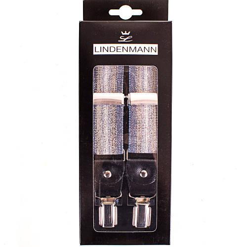 Элегантные мужские подтяжки LINDENMANN Артикул: FARE8116-003 коричневый