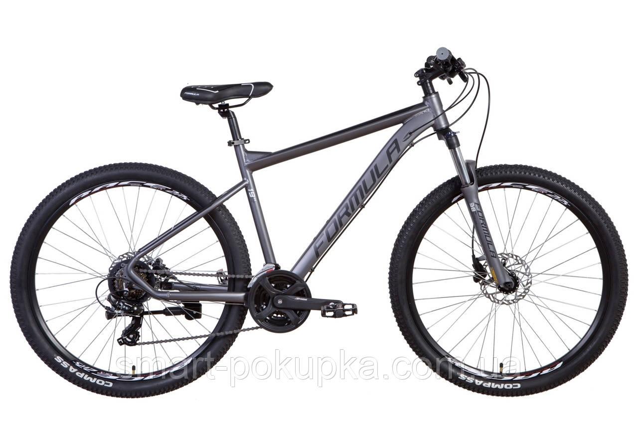 """Велосипед 27.5"""" Formula F-1 HDD 2021 (графитовый (м))"""