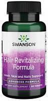 Для волосся Swanson - Ultra Hair Revitalizing Formula (60 таблеток)