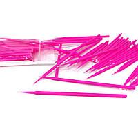 Мікробраші в пакеті головка середня, рожеві (100шт), фото 1