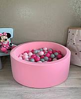 Нежно розовый сухой бассейн с шариками, фото 1