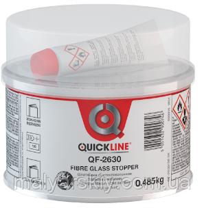 QF-2630 Скловолокниста високоякісна шпаклівка 1,8 кг QUICKLINE