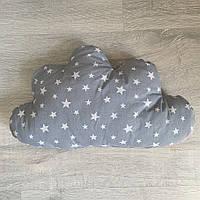 "Подушечка-хмарка ""Сірий хмарний замок"", фото 1"
