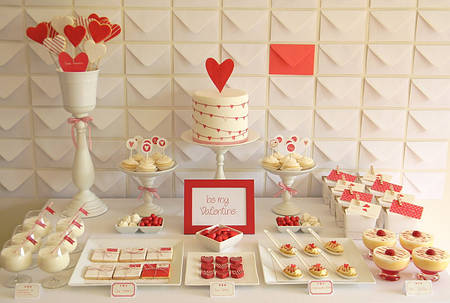 Кэнди бар (Candy bar) на День Валентина