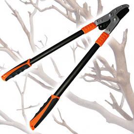 Сучкорез двуручный садовый для обрезки с ручками ученного профиля, Htools (99K203)