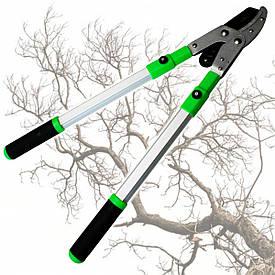 Сучкоріз садовий (дворучний) з телескопічними ручками, посилений, Htools (99K214)