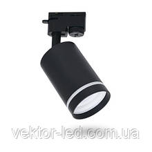 Трековый светильник под лампу GU10 Feron ML338 чёрный