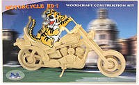 Деревянный 3Д пазл Мотоцикл Р019 Sea Land